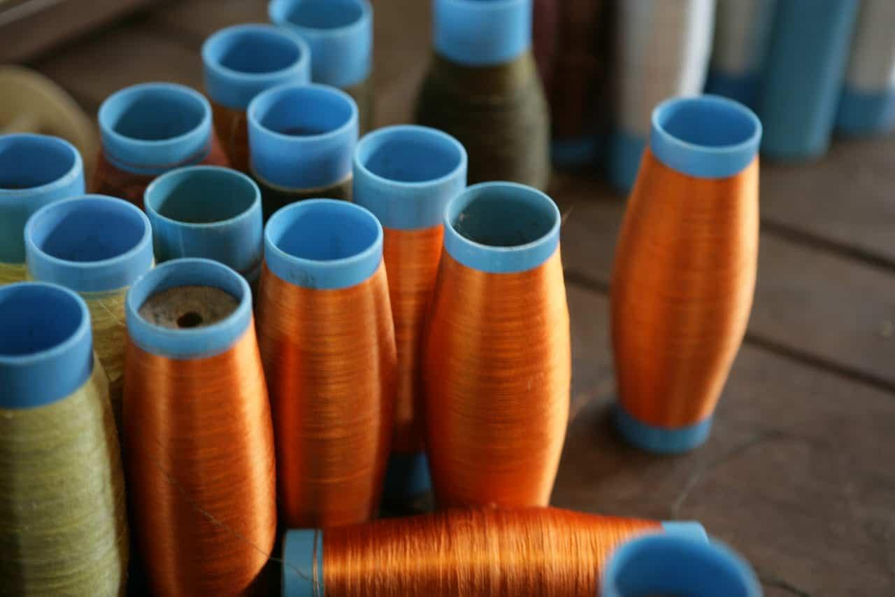 Taffeta silk fabrics