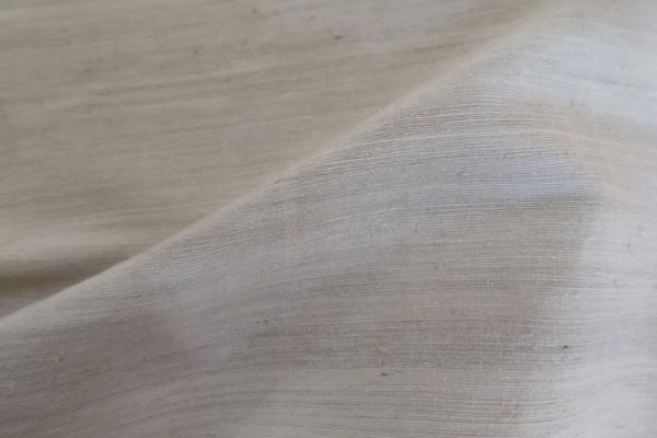 84% Lotus, 16% Silk fabric