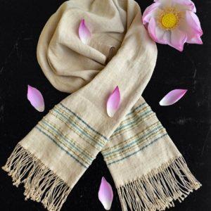 Lotus scarf