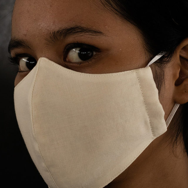 sustainable fabric face mask certified